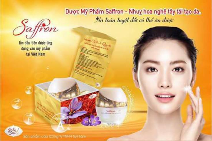 Kem Face Saffron Nano Thảo Dược Dưỡng Da Quý Hiếm