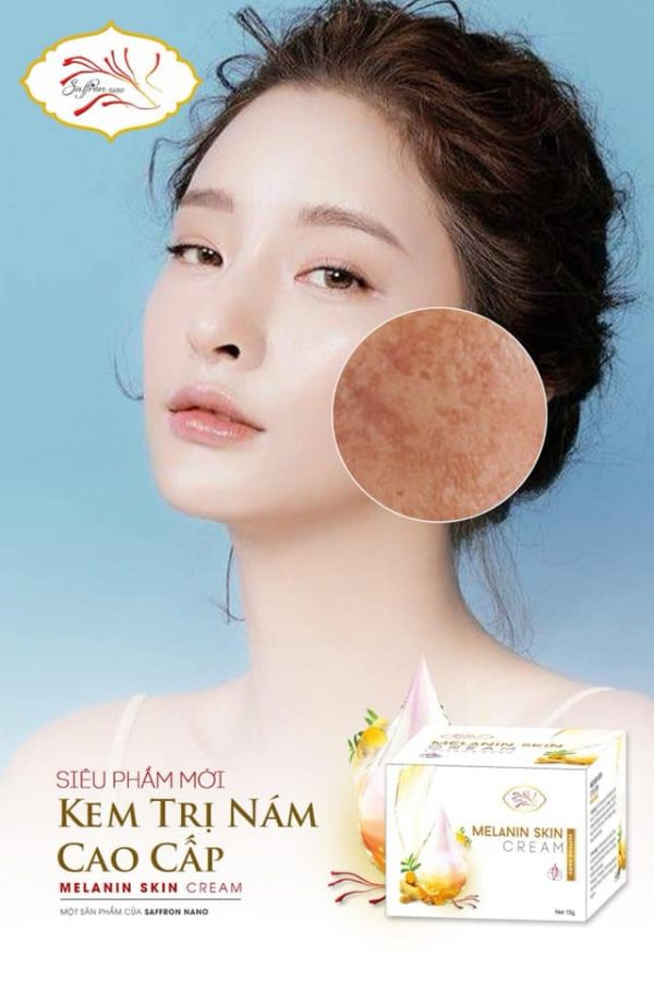 Kem Trị Nám & Tàn Nhang Saffron Nano Melanin Skin
