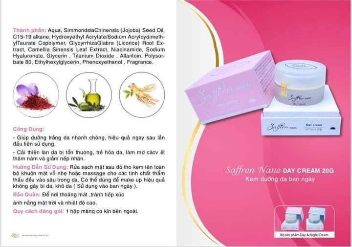 Saffron Nano Day Cream