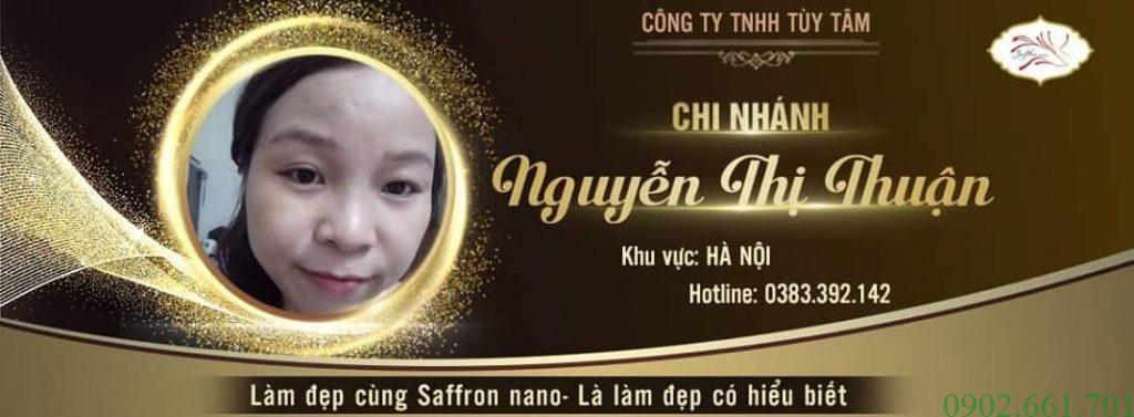 Đại Lý Saffron Nano 7/2019 Nguyễn Thị Thuận