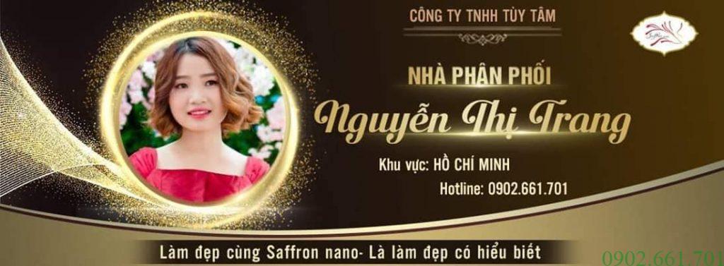 Đại Lý Saffron Nano 7/2019 Nguyễn Thị Trang