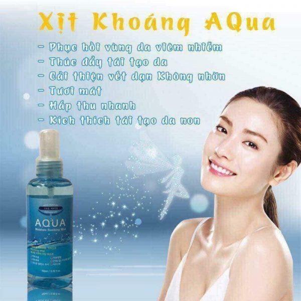Xịt Khoáng Aqua Hàn Quốc
