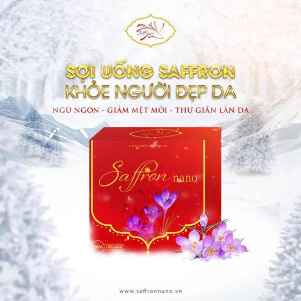 Saffron Nano Negin Nhụy Hoa Nghệ Tây