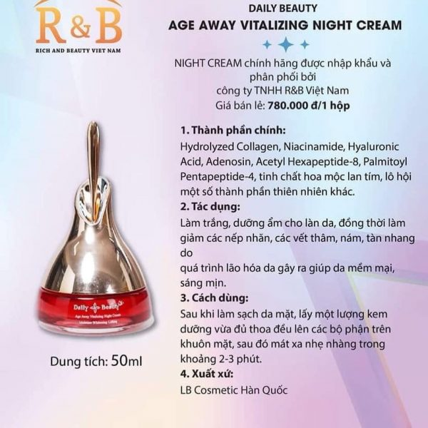 Age Away Vitalizing Night Cream