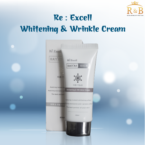 Kem Dưỡng Trắng – Whitening & WrinKle Cream