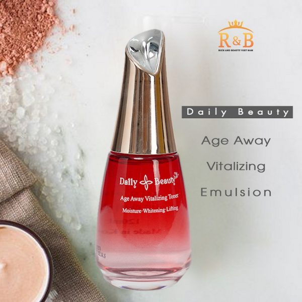 Nước hoa hồng Daily Beauty Age Away Vitalizing Toner