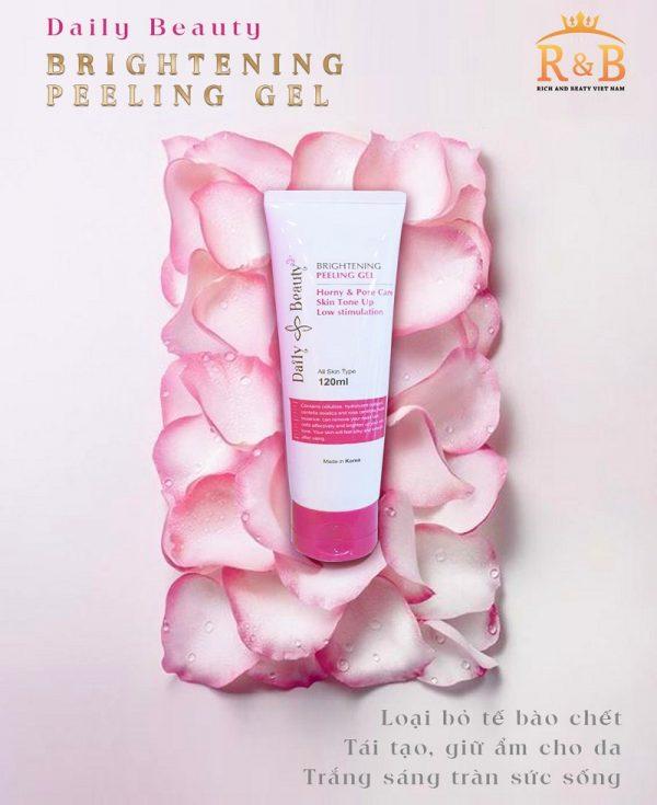 Tẩy da chết Daily Beauty Brightening Peeling Gel 3