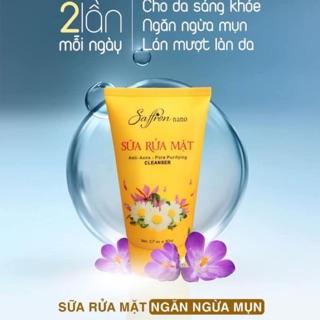 Sửa rữa mặt Saffron Nano